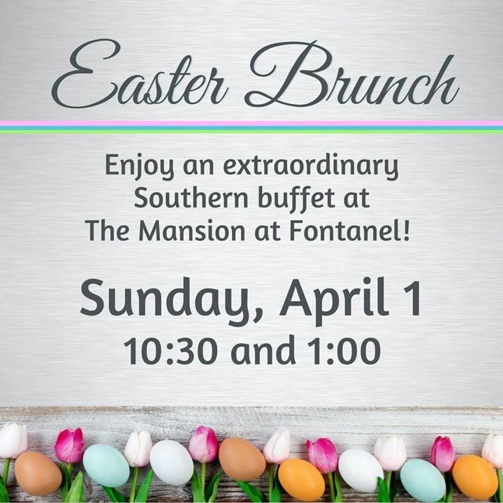 Easter Brunch at Fontanel