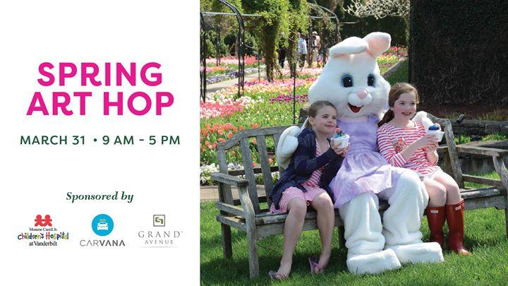 Spring Art Hop at Cheekwood