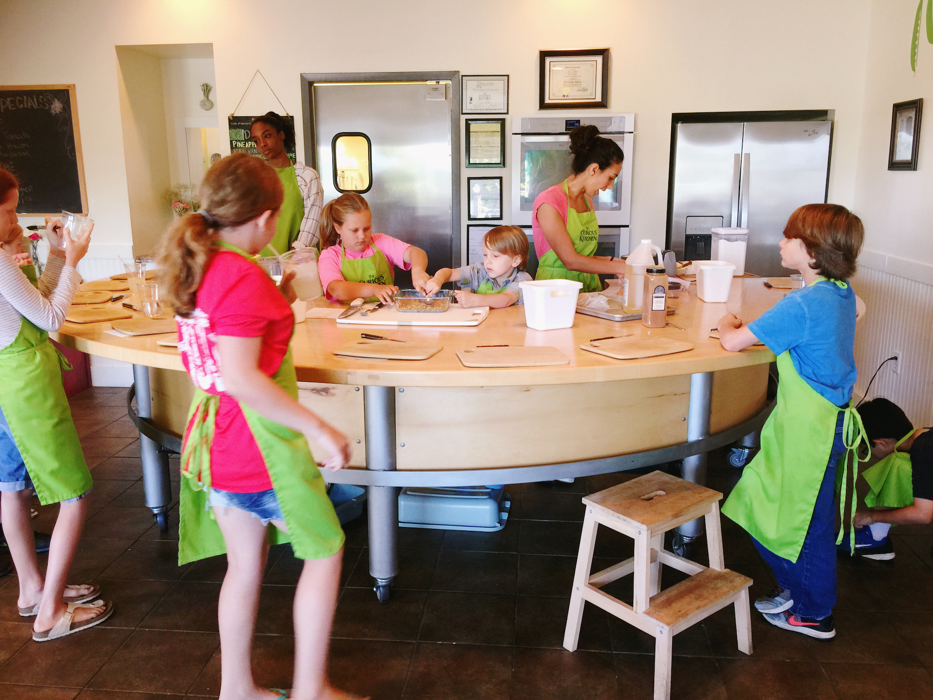 Curious Kitchen Summer Cooking Camp in Murfreesboro, TN