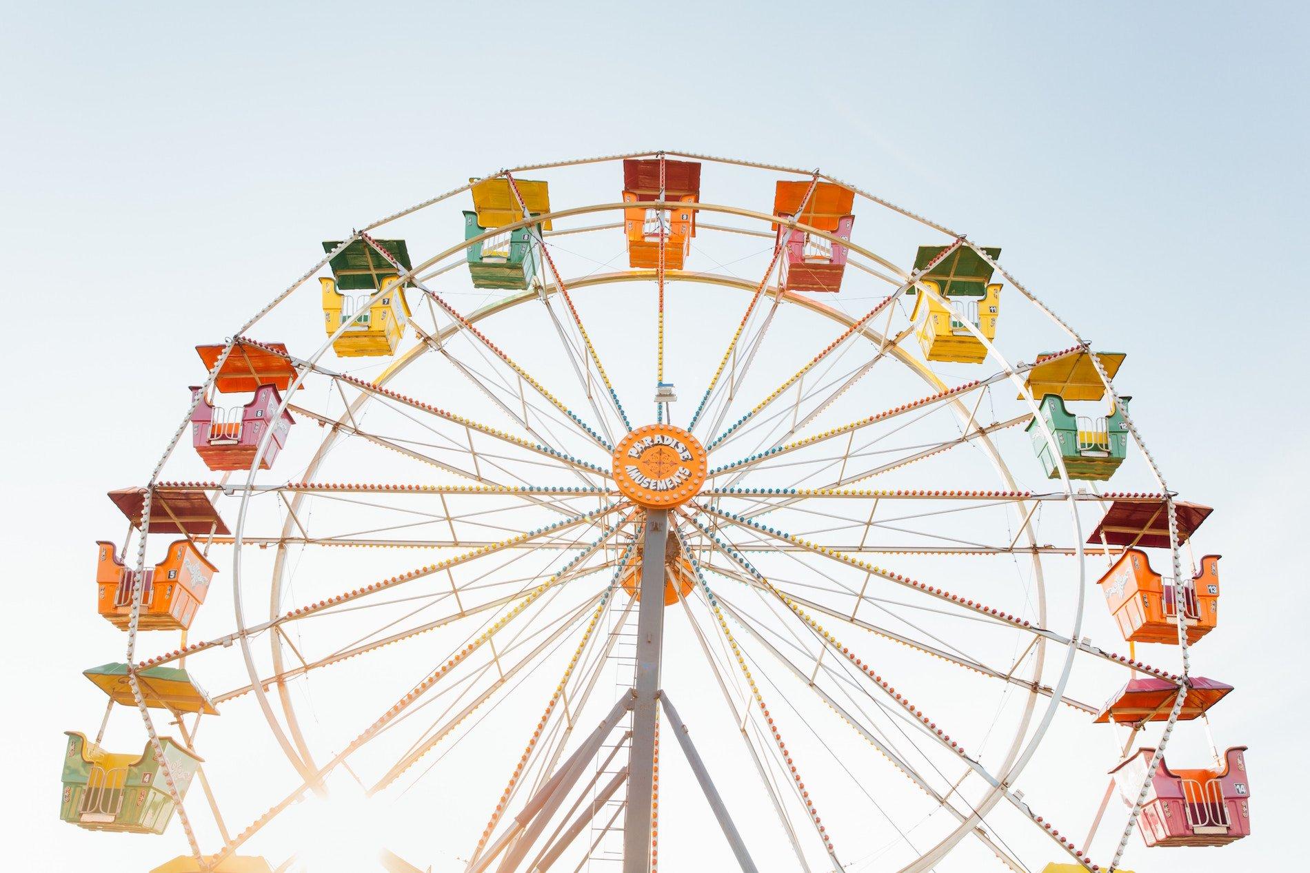 Ferris wheel at Wilson County Fair TN 2018