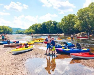 Kayaking down the Caney Fork River, where to kayak in Middle TN