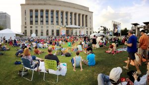 Live on the Green free outdoor music series Nashville, TN