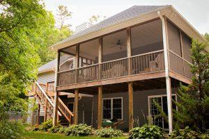 Screened porch enclosure Nashville TN