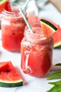 Watermelon Strawberry Smoothies