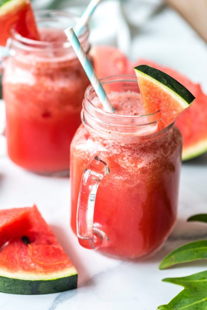 Watermelon Strawberry Smoothies
