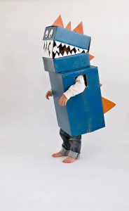 5 diy cardboard dinosaur costumes
