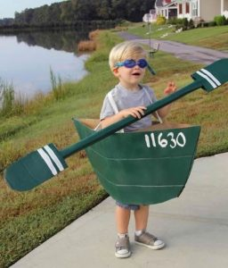 Canoe Cardboard Costume