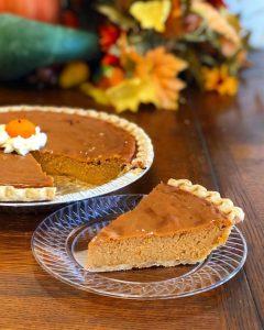 Pumpkin Pie at HomeStyle Bakery in Nashville, TN