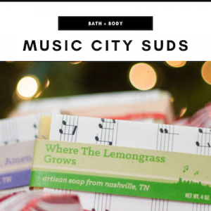 Music City Suds - Nashville, TN Local Gifts