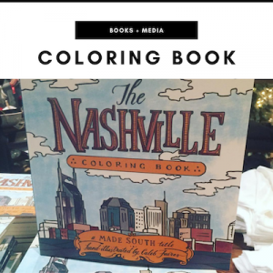 Nashville Coloring Book - Nashville, TN Local Gifts