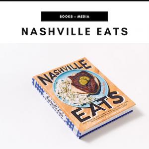 Nashville Eats Cookbook - Nashville, TN Local Gifts