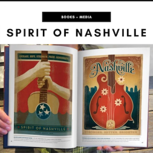 The Spirit of Nashville Book - Nashville, TN Local Gifts