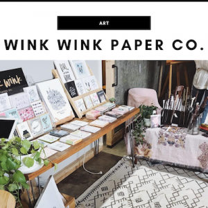 Wink Wink Paper Co. - Nashville, TN Local Gifts