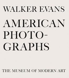 American Photographs by Walker Evans