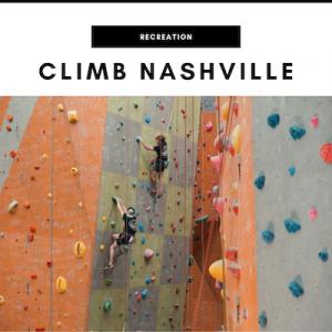Climb Nashville - Nashville, TN Local Gifts