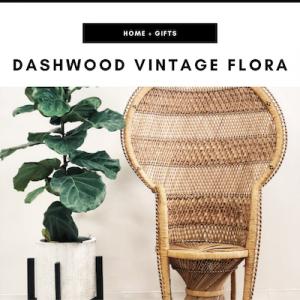 Dashwood Vintage Flora - Nashville, TN Local Gifts
