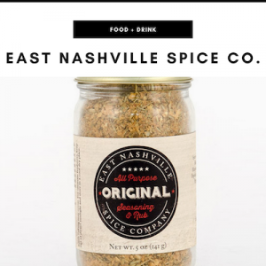 East Nashville Spice Co. - Nashville, TN Local Gifts