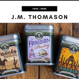 J.M. Thomason - Nashville, TN Local Gifts
