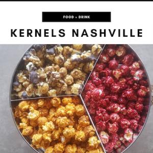 Kernels Gourmet Popcorn - Nashville, TN Local Gifts