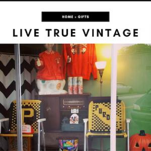 Live True Vintage - Nashville, TN Local Gifts