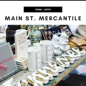 Main St. Mercantile - Nashville, TN Local Gifts