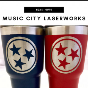 Music City Laserworks - Nashville, TN Local Gifts
