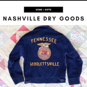 Nashville Dry Goods - Nashville, TN Local Gifts