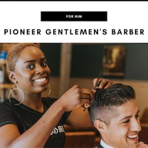 Pioneer Gentlemen's Barber - Nashville, TN Local Gifts