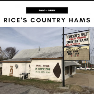 Rice's Country Hams - Nashville, TN Local Gifts