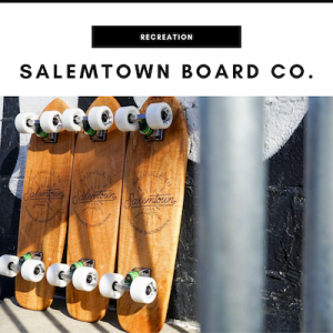Salemtown Board Company - Nashville, TN Local Gifts