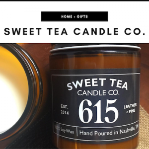 Sweet Tea Candle Co. - Nashville, TN Local Gifts