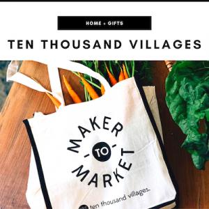 Ten Thousand Villages - Nashville, TN Local Gifts