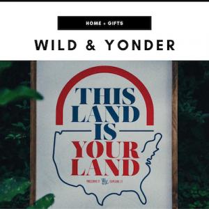 Wild & Yonder - Nashville, TN Local Gifts
