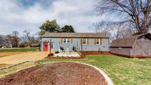 back yard - 2509 David Drive, Donelson home for sale