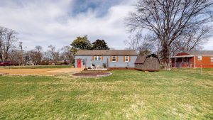 backyard - 2509 David Drive, Donelson home for sale