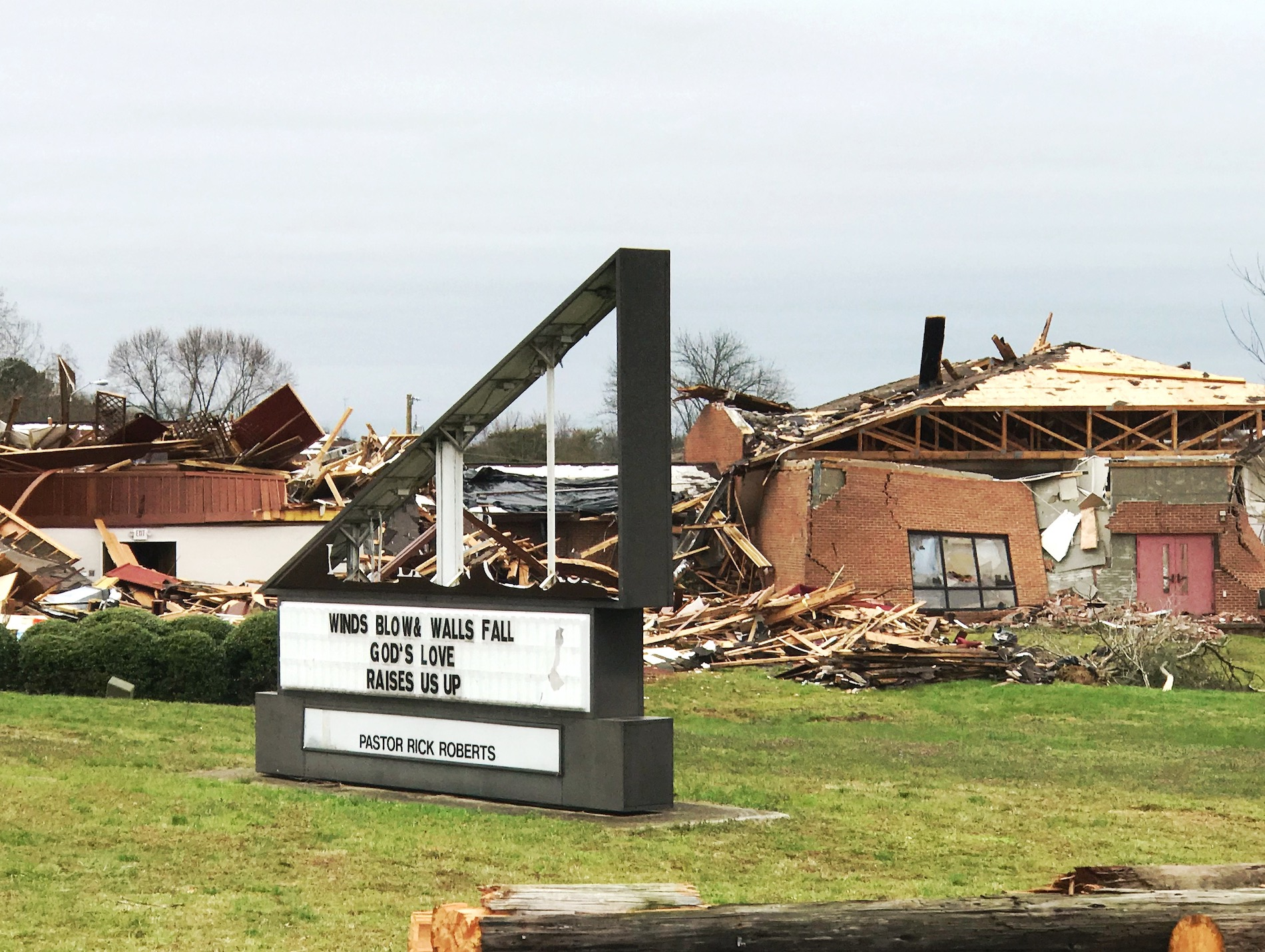 Help for homes damaged in Nashville Tornado March 3, 2020