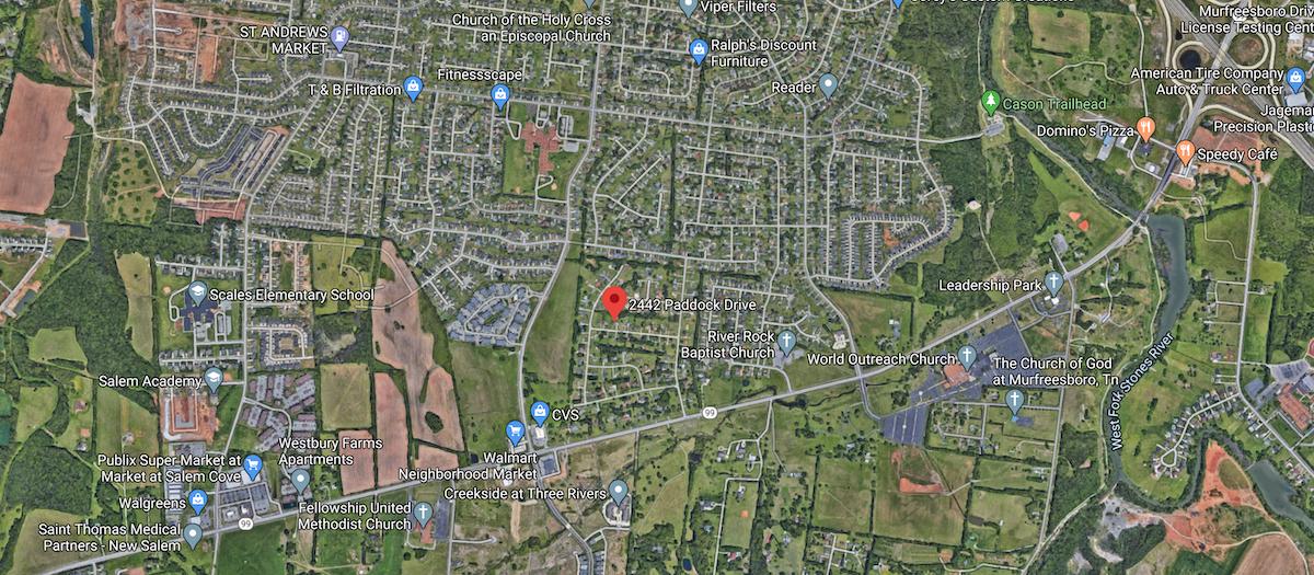 Home for Sale in Murfreesboro TN