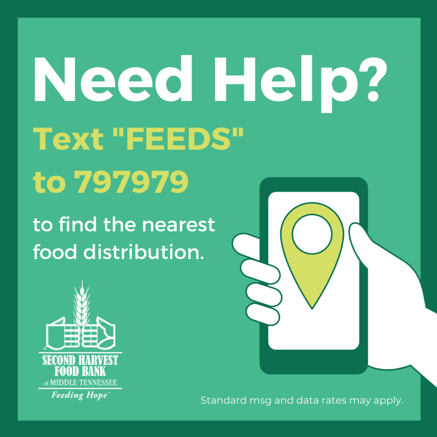 Where to find food bank in Nashville, TN