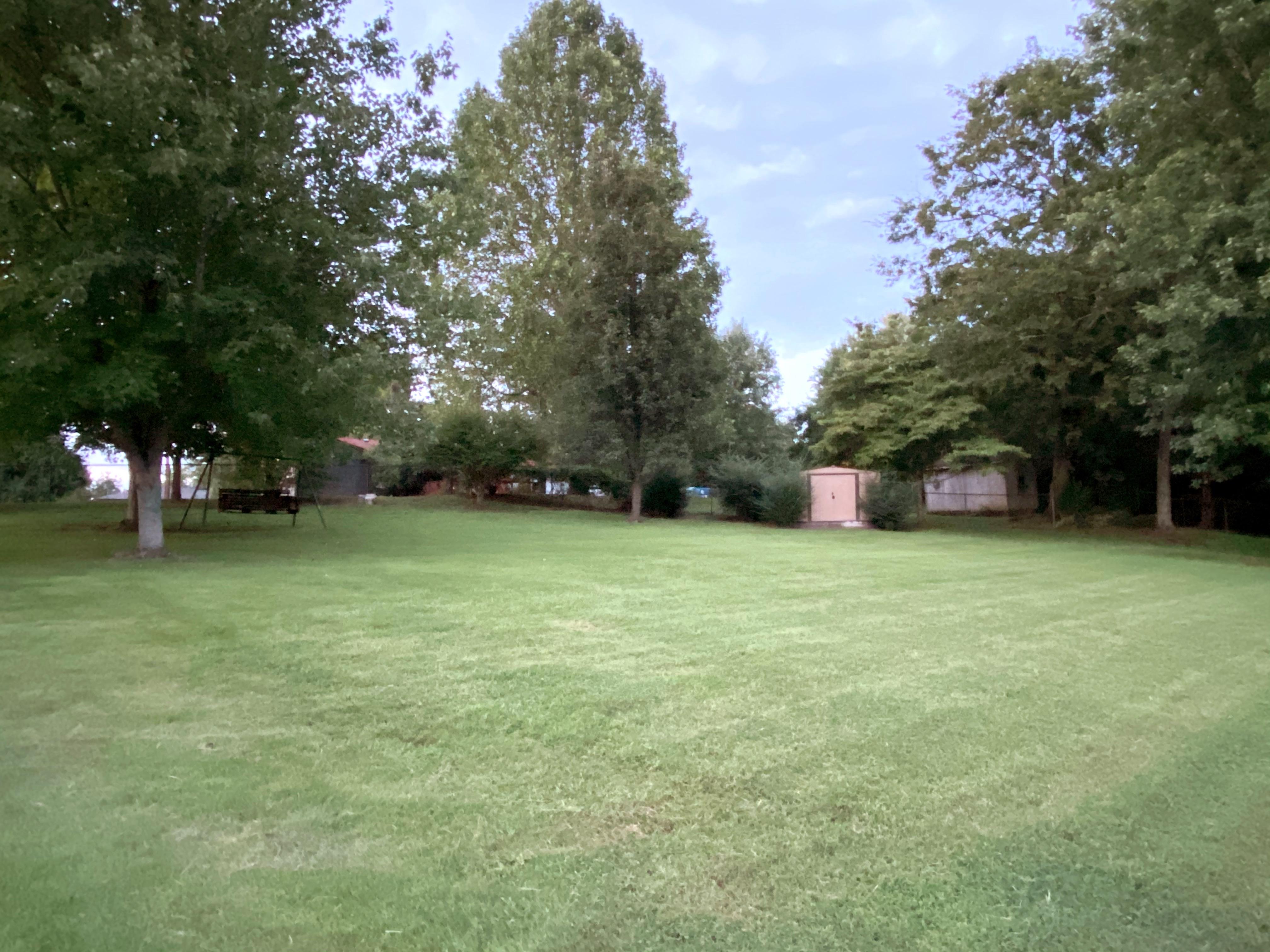 Peaceful, park-like back yard in Wilson County, TN
