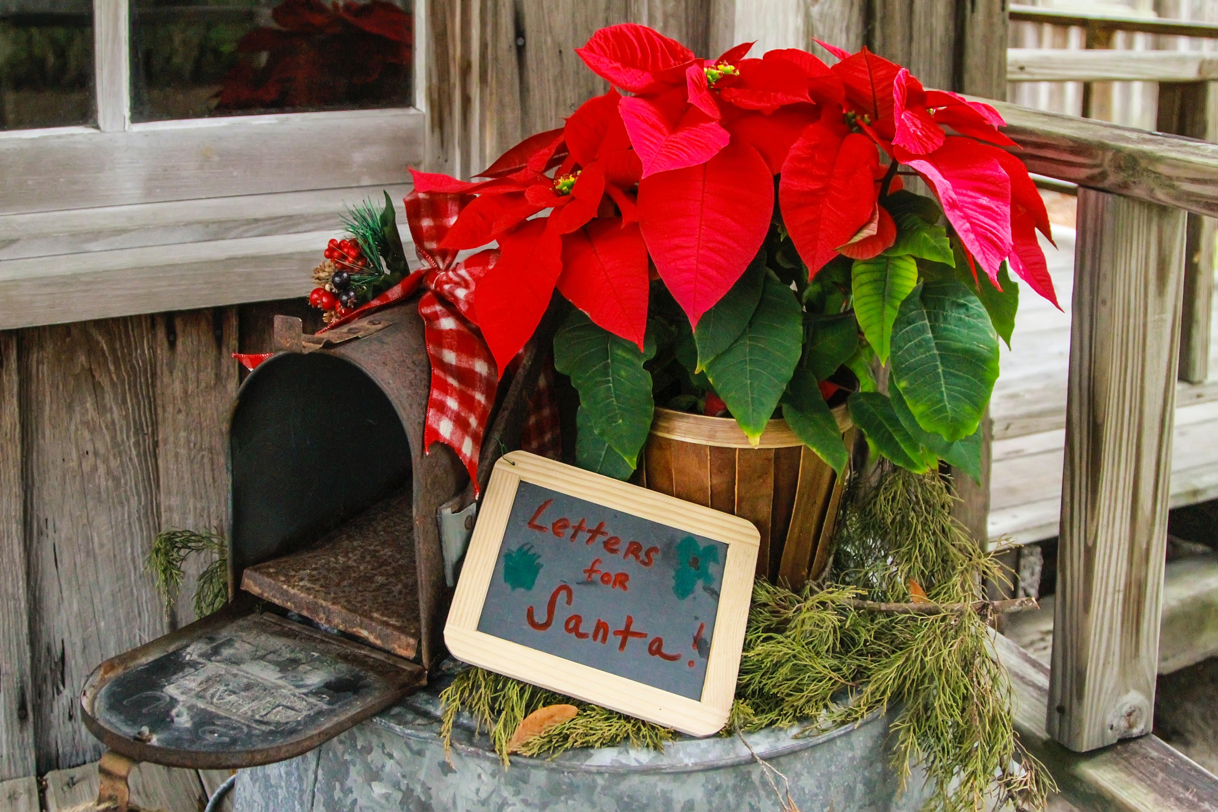 letters to Santa, Santa mailbox in Nashville, TN