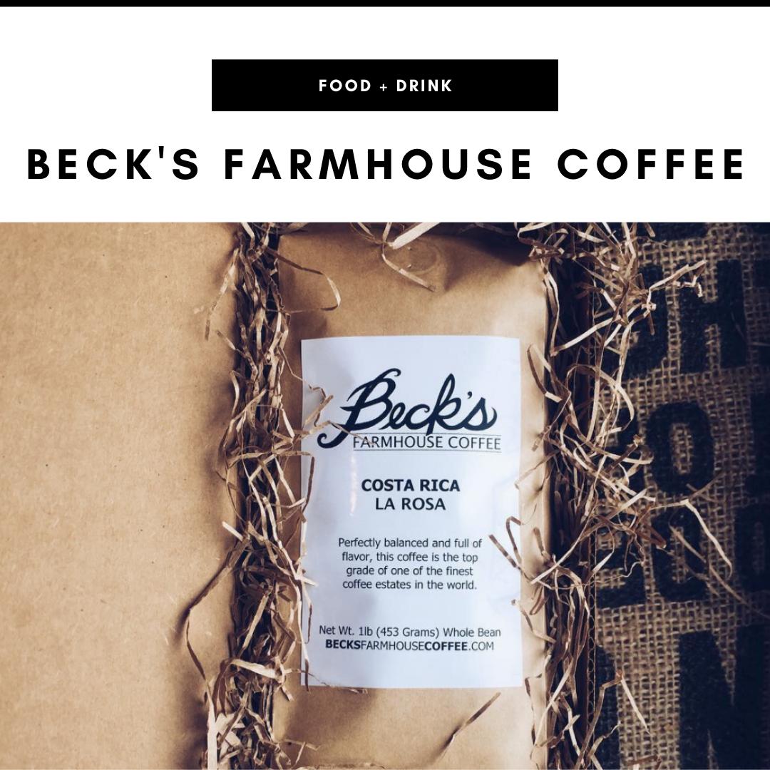 Beck's Farmhouse Coffee - Nashville, TN Local Gifts