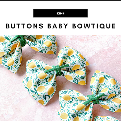 Buttons Baby Bowtique - Nashville, TN Local Gifts