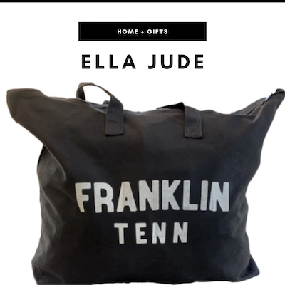 Ella Jude - Nashville, TN Local Gifts