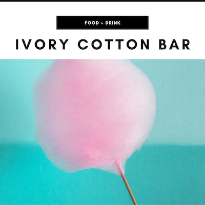 Ivory Cotton Bar - Nashville, TN Local Gifts