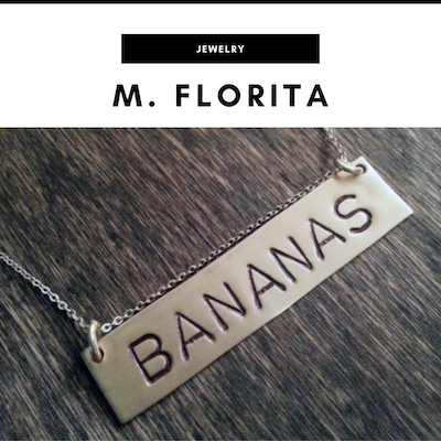 M. Florita handcrafted jewelry - Nashville, TN Local Gifts
