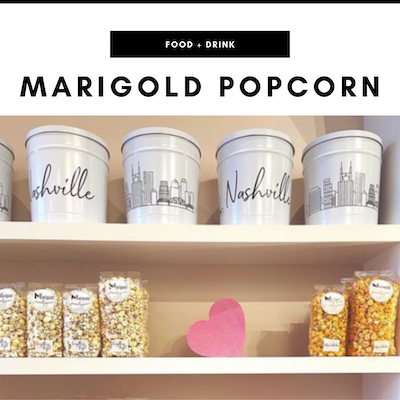 Marigold Gourmet Popcorn - Nashville, TN Local Gifts
