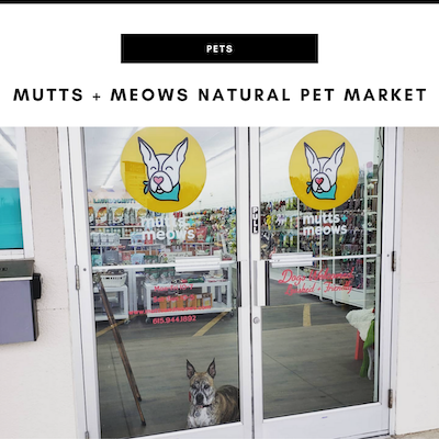 Mutts and Meows Natural Pet Market - Nashville, TN Local Gifts