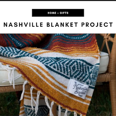 The Nashville Blanket Project - Nashville, TN Local Gifts