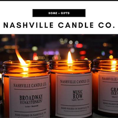 Nashville Candle Company - Nashville, TN Local Gifts