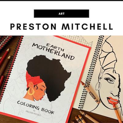 Preston Mitchell Art - Nashville, TN Local Gifts
